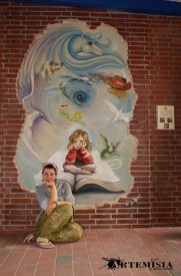 Finish my mural.