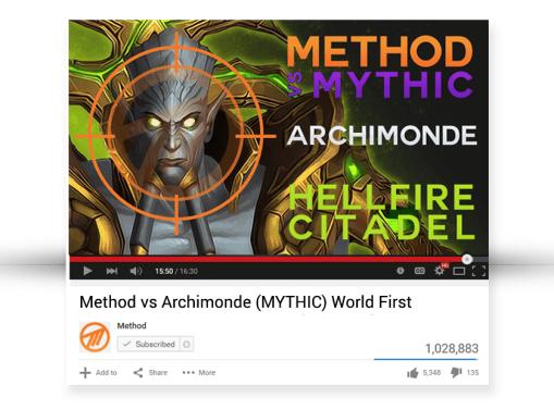 YouTube Thumbnails: Hellfire Citadel
