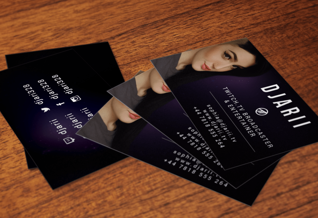 Business Card Design - Djarii