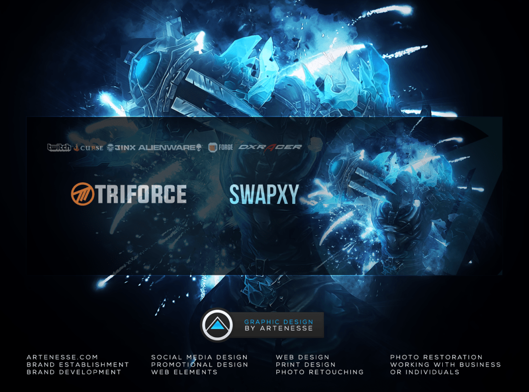 Twitter Banner Design - Swapxy