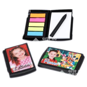 bloquinho de anotações arte no papel lembrancinhas personalizadas com foto