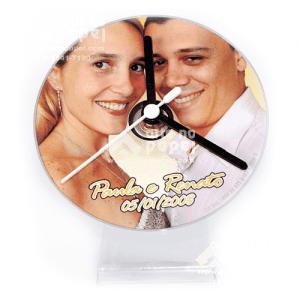relógio cdsave the date arte no papel lembrancinhas personalizadas com foto