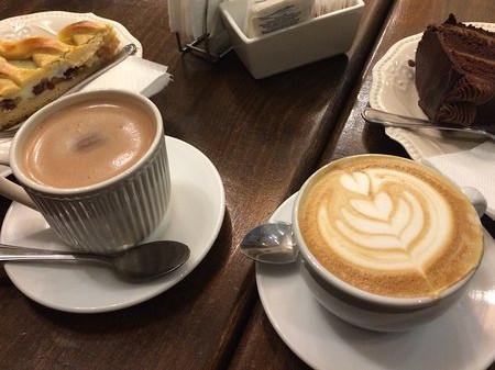 café y chocolate