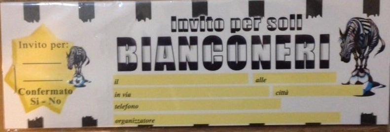 20 Inviti Assegno Juventus
