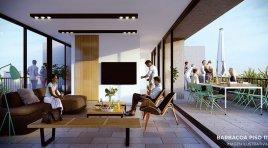 En Cordón apartamento Penthouse con gran terraza y parrillero