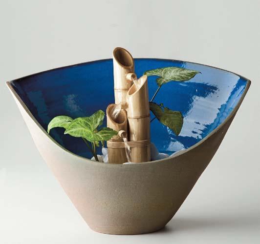 Como Fazer Fonte Japonesa 1 Como fazer uma fonte de bambu passo a passo