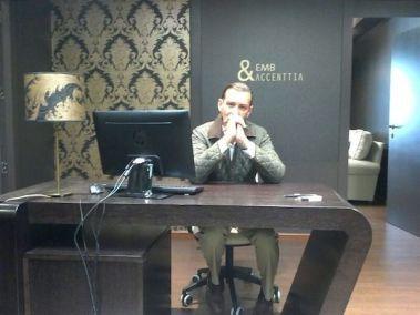 Pantallas para despacho de abogados diseñado por el interiorista José Luis Gallardo.