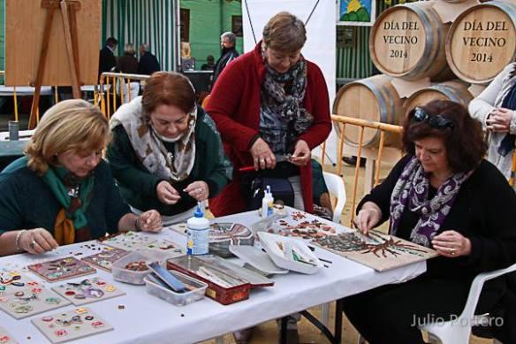 Aretsanoas elaborando mosaico