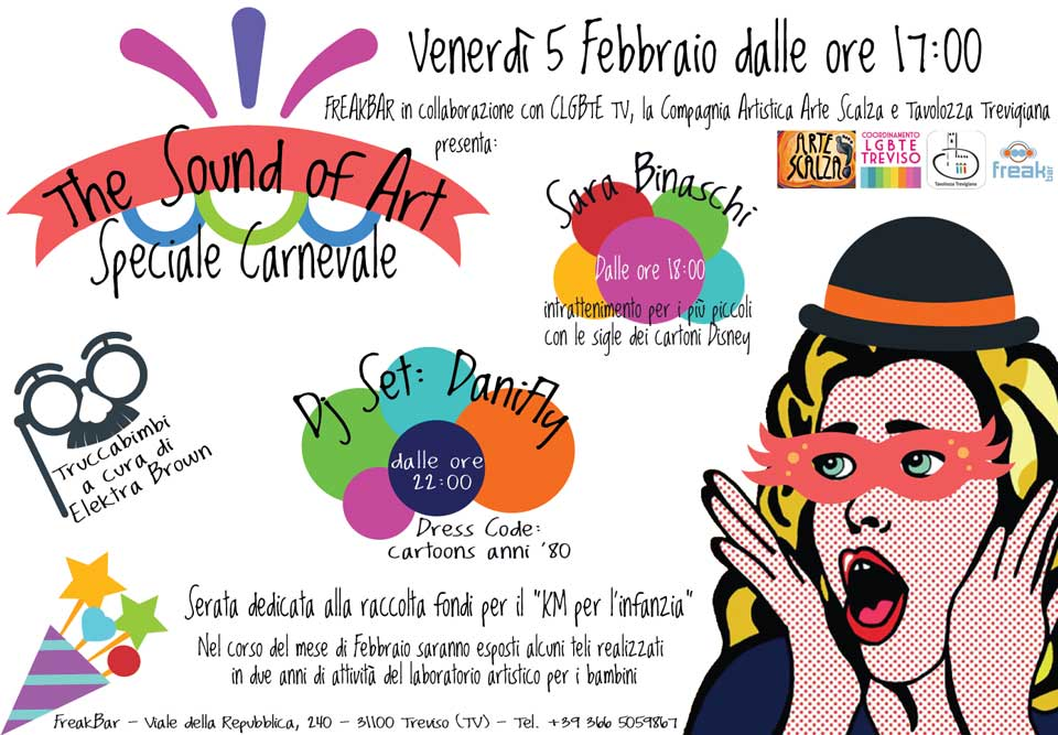 The Sound of Art: Speciale Carnevale al Freak Bar