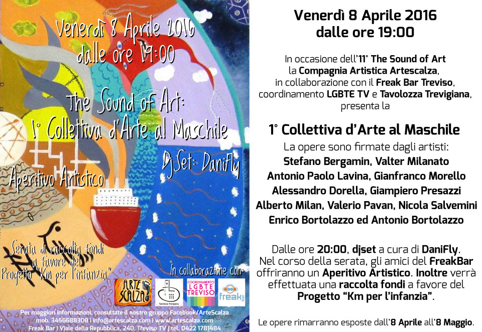 The Sound of Art: 1° Collettiva la Maschile