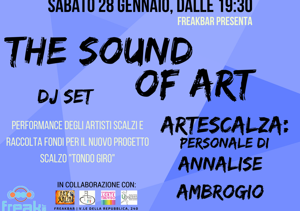 The Sound of Art, esposizione personale di Annalise Ambrogio.