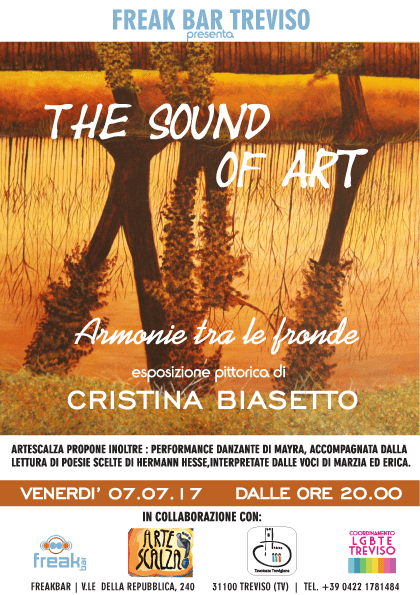 The Sound of Art: Armonia tra le fronde