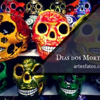 Dia dos mortos de antigas tradições