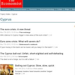 economist cyprus banking meltdown coverage