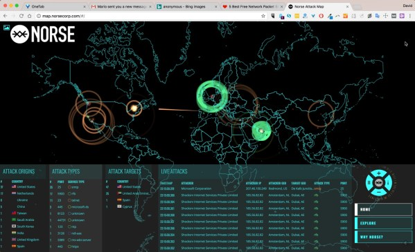 norse attack map shows cyber attacks in real time