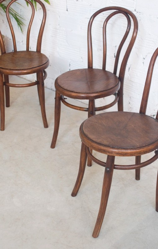Chaises Vintage Thonet Luterma Chaise Bistro Bistrot