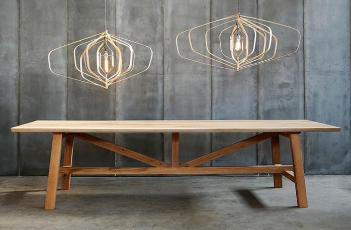 table en chene massif table de ferme table salle a manger bois table ronde bois table bois brut table de ferme ancienne