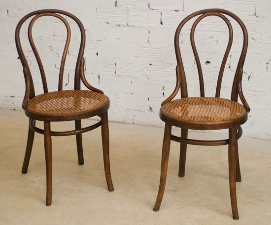 thonet chairs vintage retro antique bistro chair the 20s wood turned canage seat