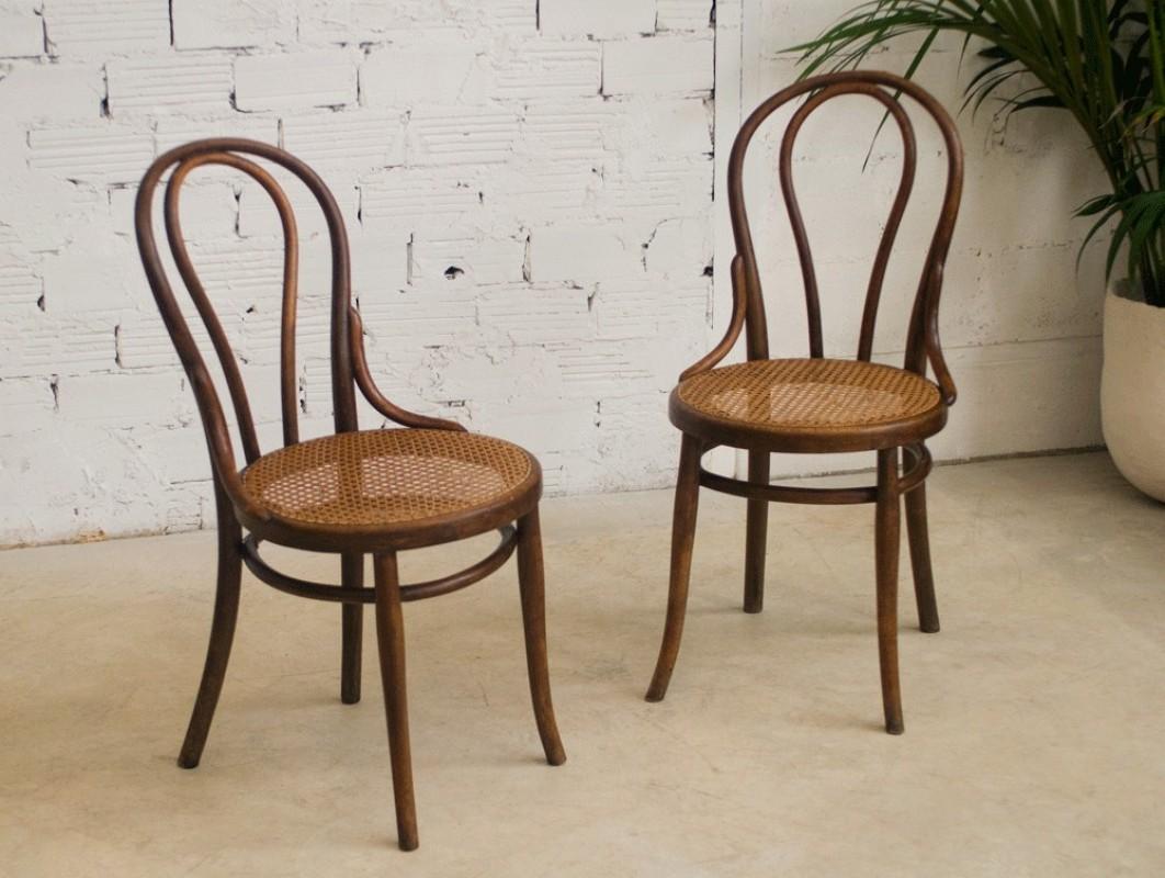 Thonet Chairs Vintage Retro Antique Bistro Chair