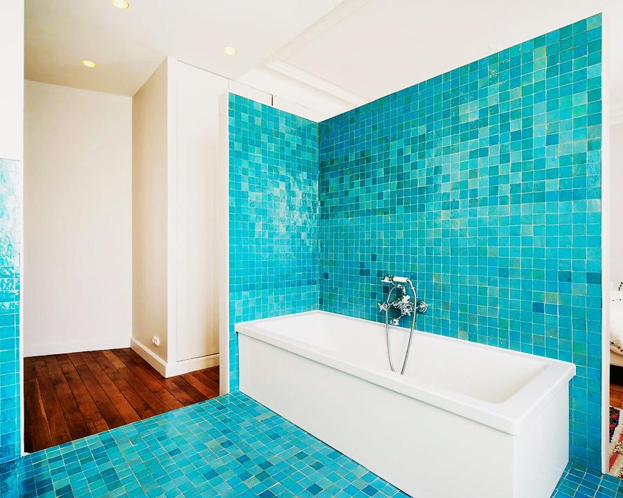 salle de bain en zellige art et sud deco