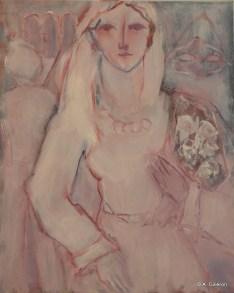 H18 - Masque et Bouquet (61 x 50 cm)