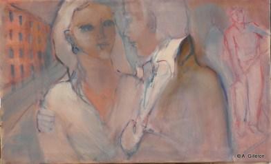 H39 - Les Romantiques (42 x 72 cm)