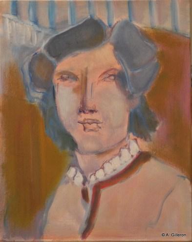 H61 - Le poète (41 x 33 cm)