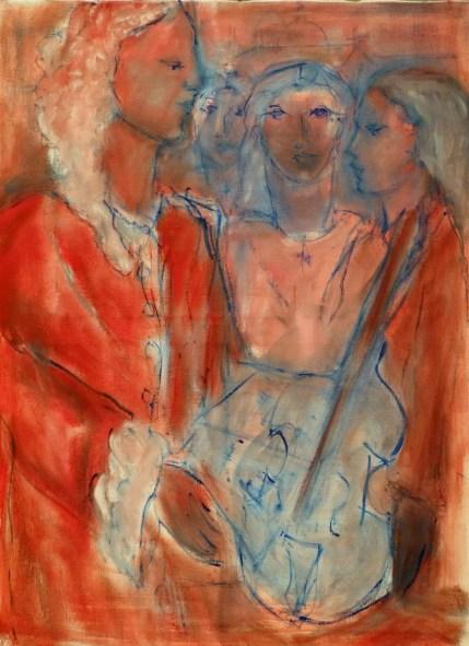 H03 - Vivaldi et ses orphelines (81x60 cm)