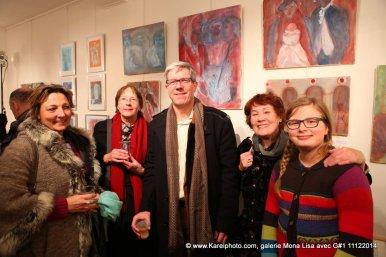 "Vernissage Exposition ""Ambiance vénitienne"" 2014 avec G#1"