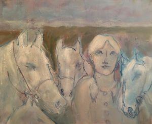 La femme aux chevaux