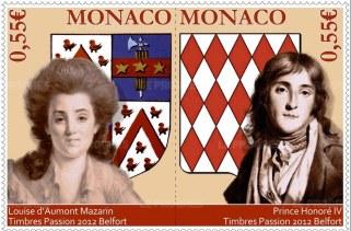 Le timbre ayant servi de modèle