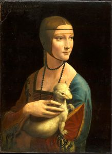 Leonardo Da Vinci The Lady with an Ermine