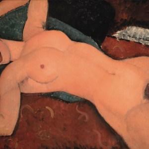 red nude - modigliani