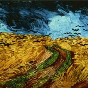 wheatfield with crows - van gogh