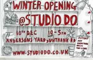 Winter Opening at StudioDo, Unthank Rd, Norwich