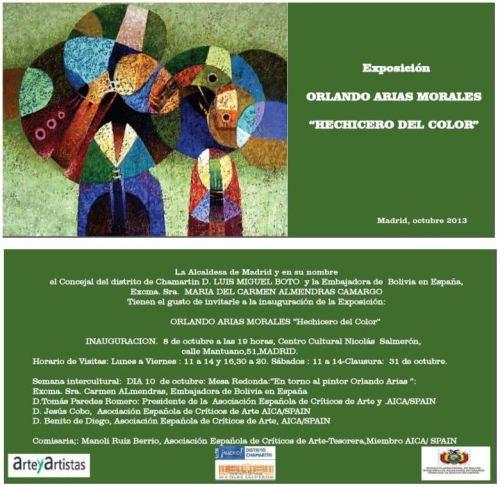 Exposición Orlando Arias