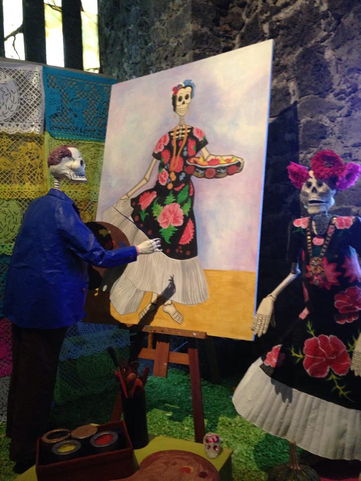 Ofrenda día de Muertos, Museo Anahuacalli