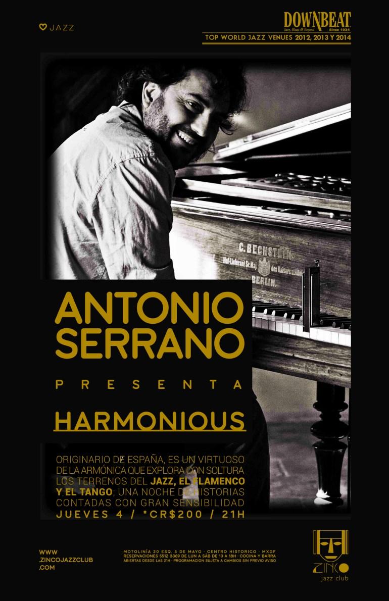 Antonio Serrano en el Zinco