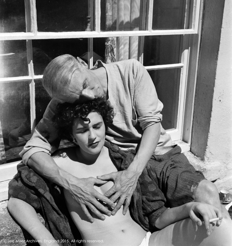 Leonora Carrington and Max Ernst, Lambe Creek, Cornwall, England, 1937. © Lee Miller Archives, Inglaterra 2015. Todos los derechos reservados.