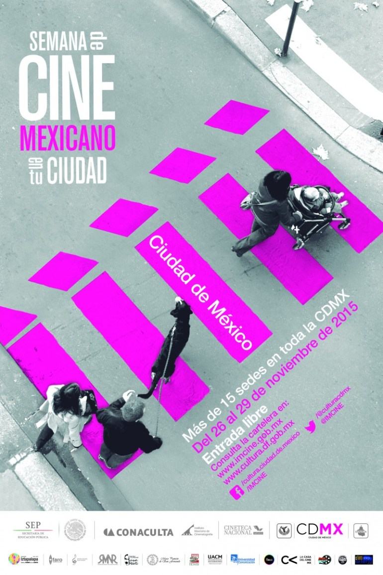 Semana de Cine Mexicano en tu ciudad