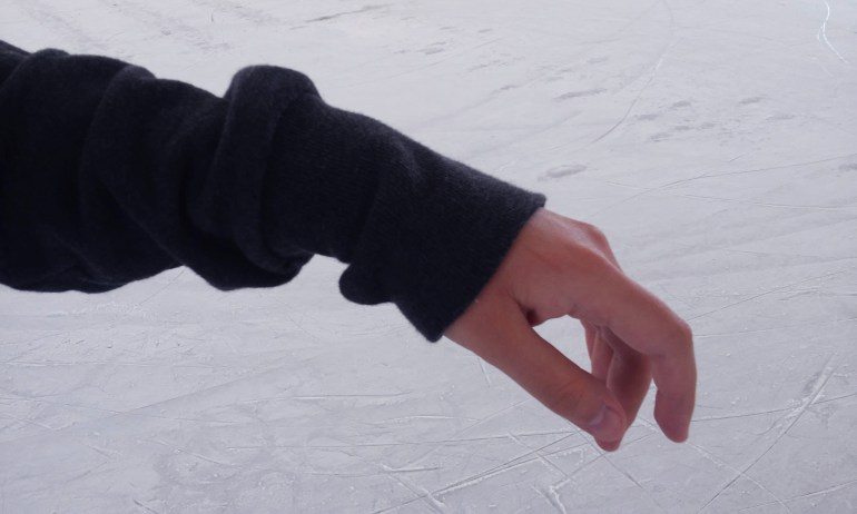 Patinar en hielo