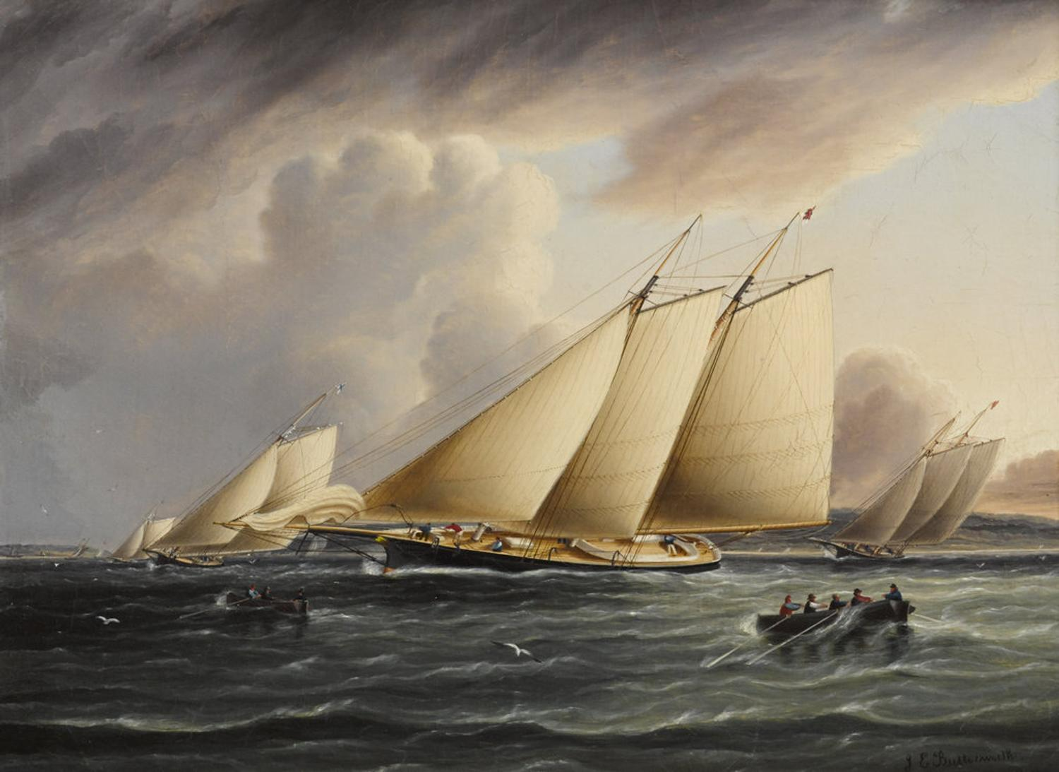 THE FRITZ GOLD COLLECTION OF MARITIME PAINTINGS ARRIVES AT