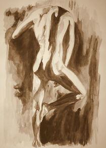 Pin Auf Abstrakte Aktmalerei Akt Painting Abstract