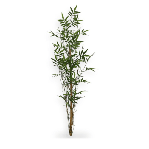 Bambus artificial pe tulpina bambus natural H120