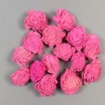 Capete flori Ming Fucsia set