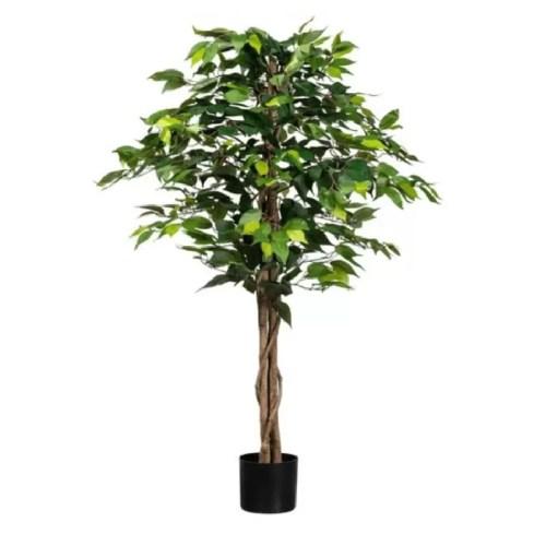 Ficus artificial basic verde 120cm