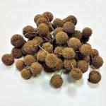 Fructe decorative uscate auriu