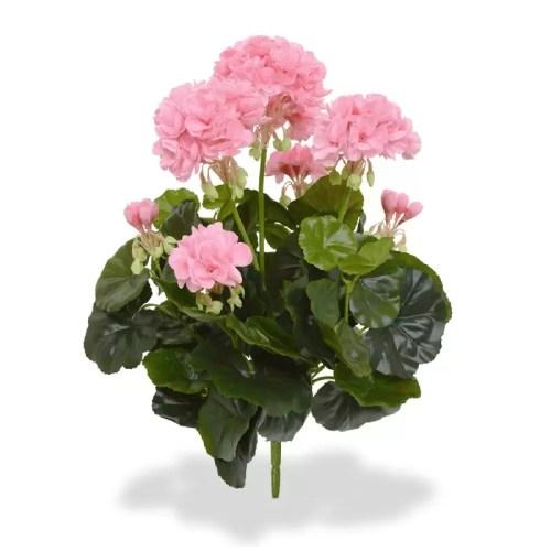 Geranium Muscata artificiala buchet roz 40cm