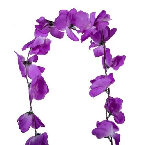 Ghirlanda Orhidee lila 36 det