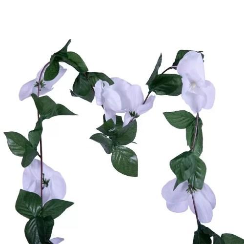 Ghirlanda orhidee alba 175 2